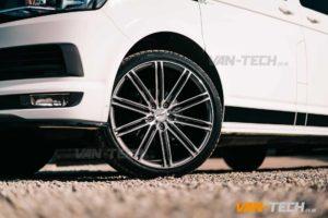 VW T5 T5.1 T6 Calibre CC-I 20″ Alloy Wheels Gun Metal