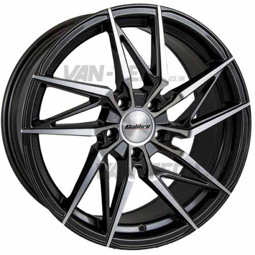 VW T5 T5.1 T6 Calibre CCZ Alloy Wheels 19″ Gun Metal / Polished