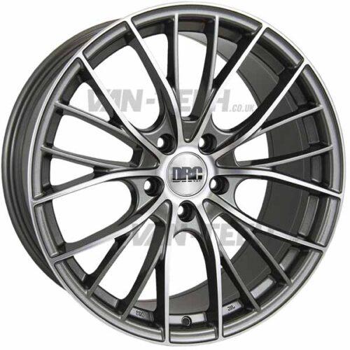 VW T5 T5.1 T6 DRC DMM Alloy Wheels 19″ Gun Metal / Polished