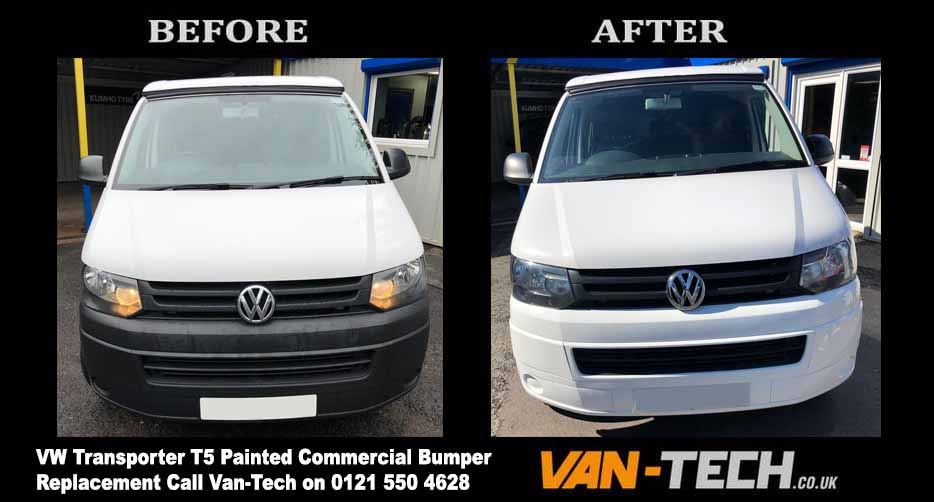 VW Transporter T5 Commercial Bumper Replacement