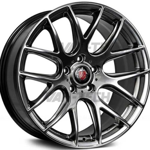 VW T5 T5.1 T6 Axe CS - Lite Alloy Wheels 20″ Hyper Black