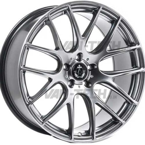 VW T5 T5.1 T6 Axe CS - Lite Alloy Wheels 20″ Hyper Silver
