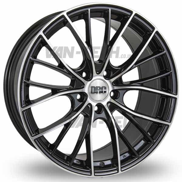 VW T5 T5.1 T6 DRC DMM Alloy Wheels 19″ Black / Polished
