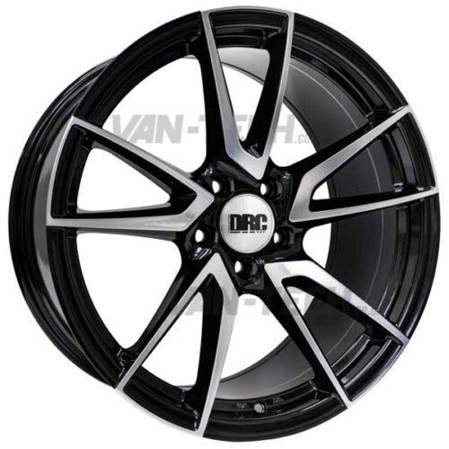 VW T5 T5.1 T6 DRC DLA Alloy Wheels 19″ Black / Polished