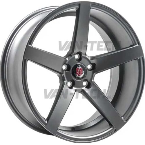 "VW T5 T5.1 T6 Axe EX-18 Alloy Wheels 18"" Matte Grey"