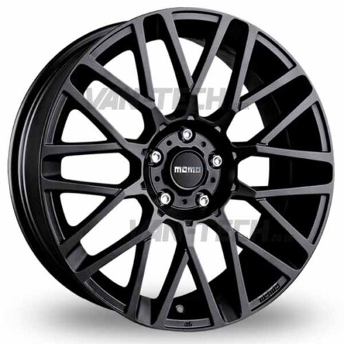 "VW T5 T5.1 T6 Momo Revenge Alloy Wheels 20"" Matte Black"