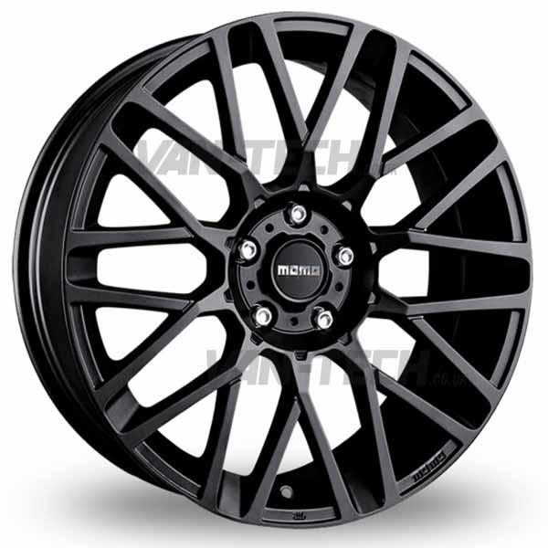 """VW T5 T5.1 T6 Momo Revenge Alloy Wheels 20"""" Matte Black"""