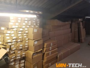 VW Transporter T5, T5.1 and T6 parts delivery