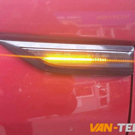 VW T6 Dynamic Side Repeater Smoked fits models 2015 - onwards