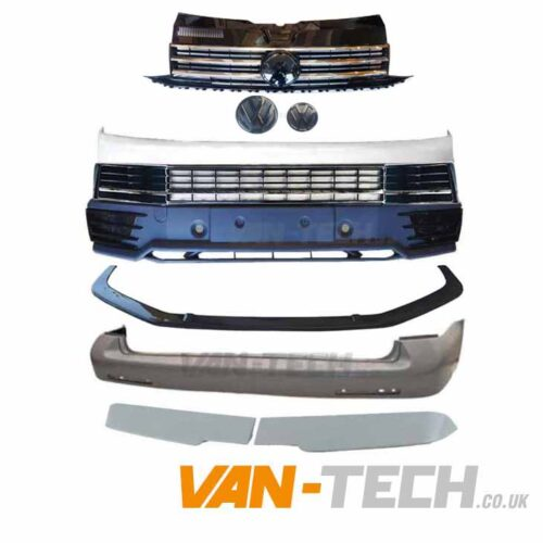 VW T6 Startline to Highline Conversion Kit Chrome Trim Barn Door
