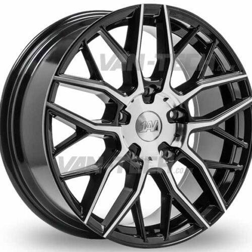 VW T5 T5.1 T6 1AV ZX11 Alloy Wheels 20″ Black / Polished