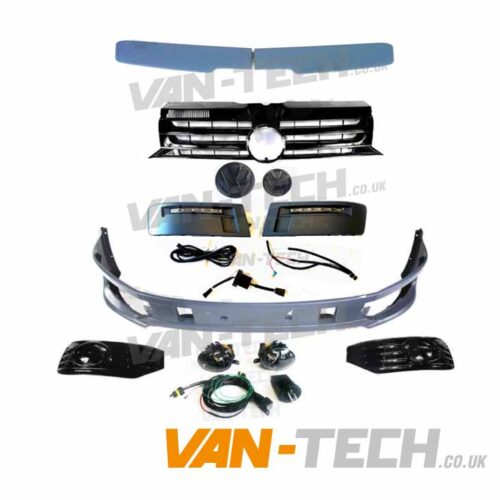 VW T5.1 Sportline Upgrade Kit Fog Lights, DRL's, Badged Grille and Spoiler