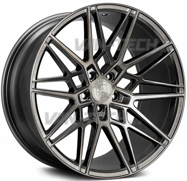 VW T5 T5.1 T6 Axe CF1 Alloy Wheels 20″ Carbon Grey Forged