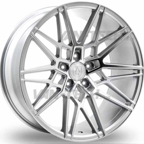 VW T5 T5.1 T6 Axe CF1 Alloy Wheels 20″ Silver / Polished Forged