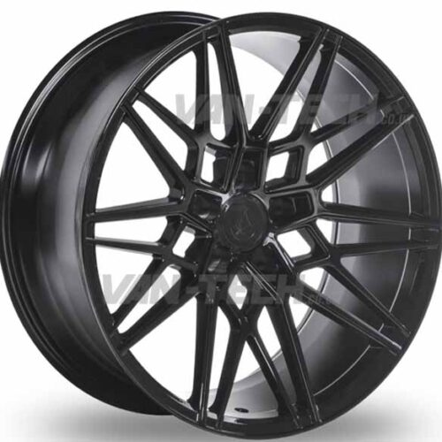 VW T5 T5.1 T6 Axe CF1 Alloy Wheels 20″ Gloss Black Forged