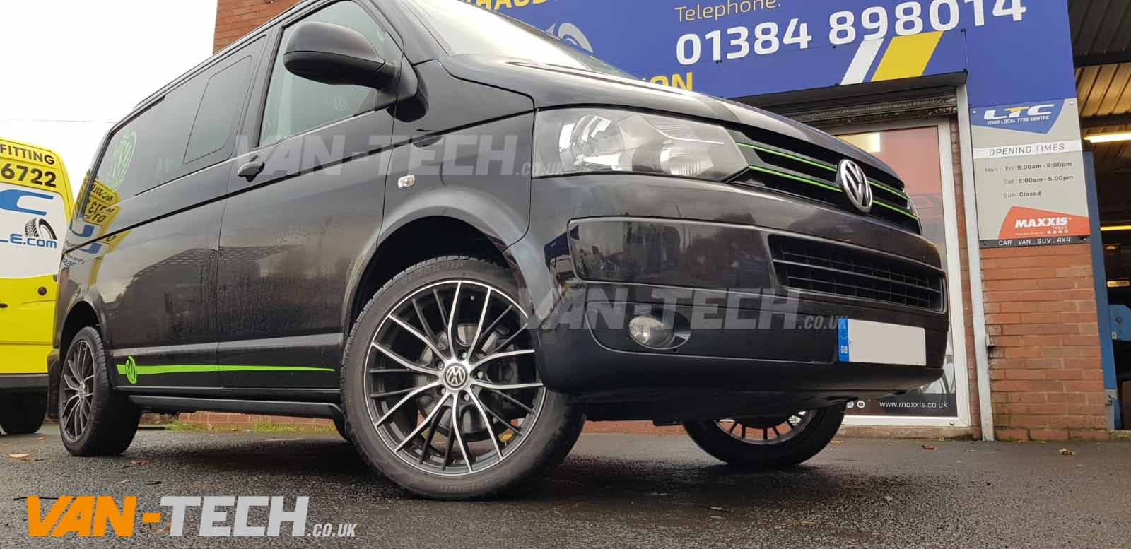 VW Transporter T5.1 T6 Electric Side Steps Bars supplied and fitted