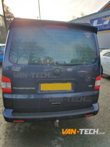 VW Transporter T5.1 fitted with lots of Van-Tech parts and accessories!