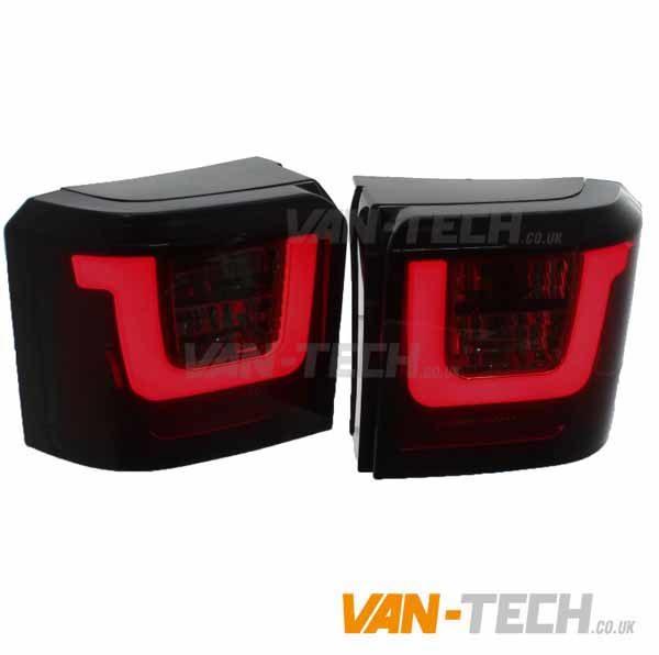 VW Transporter T4 Lightbar Rear Lights Smoked