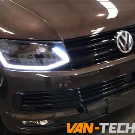 VW Transporter T6 LED DRL Light Bar Headlights Dynamic Indicators