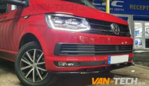 VW Transporter T6 Parts Front Lower Splitter and Tailgate Spoiler