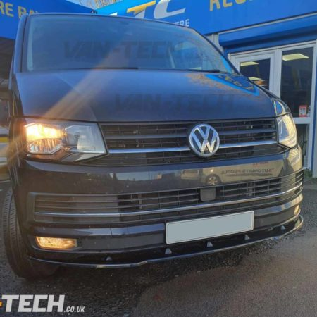 VW Transporter T6 Parts Spoiler, Spiltter, Roof Rails and Side Bars!