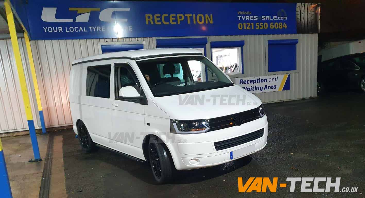 VW T5.1 Sportline Side Bars Lightbar Headlights and more!