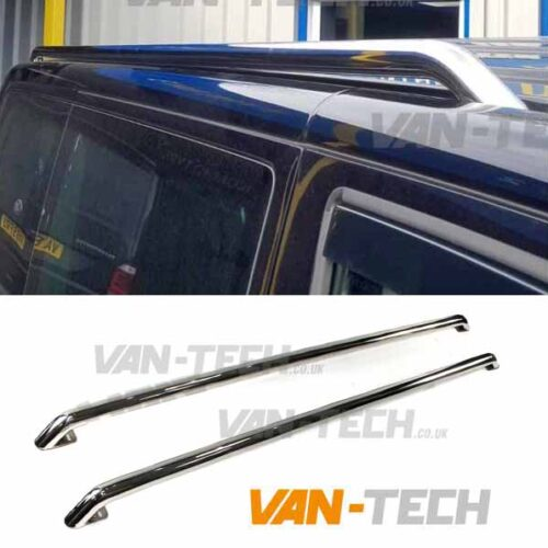 VW T6 T6.1 Roof Rails Stainless Steel Transporter SWB LWB