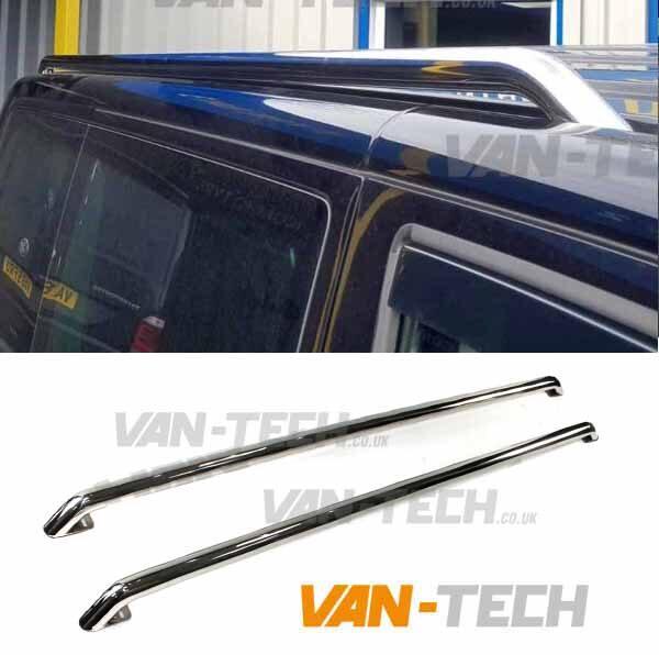VW T6 T6.1 Roof Rails Stainless Steel Transporter SWB LWB