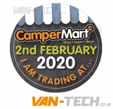Camper Mart 2nd Febuary 2020 The International Centre Telford