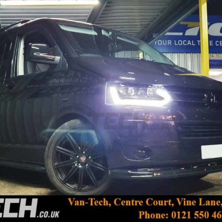 VW Transporter T5 T5.1 Accessories and parts supplied and fitted by Van-Tech