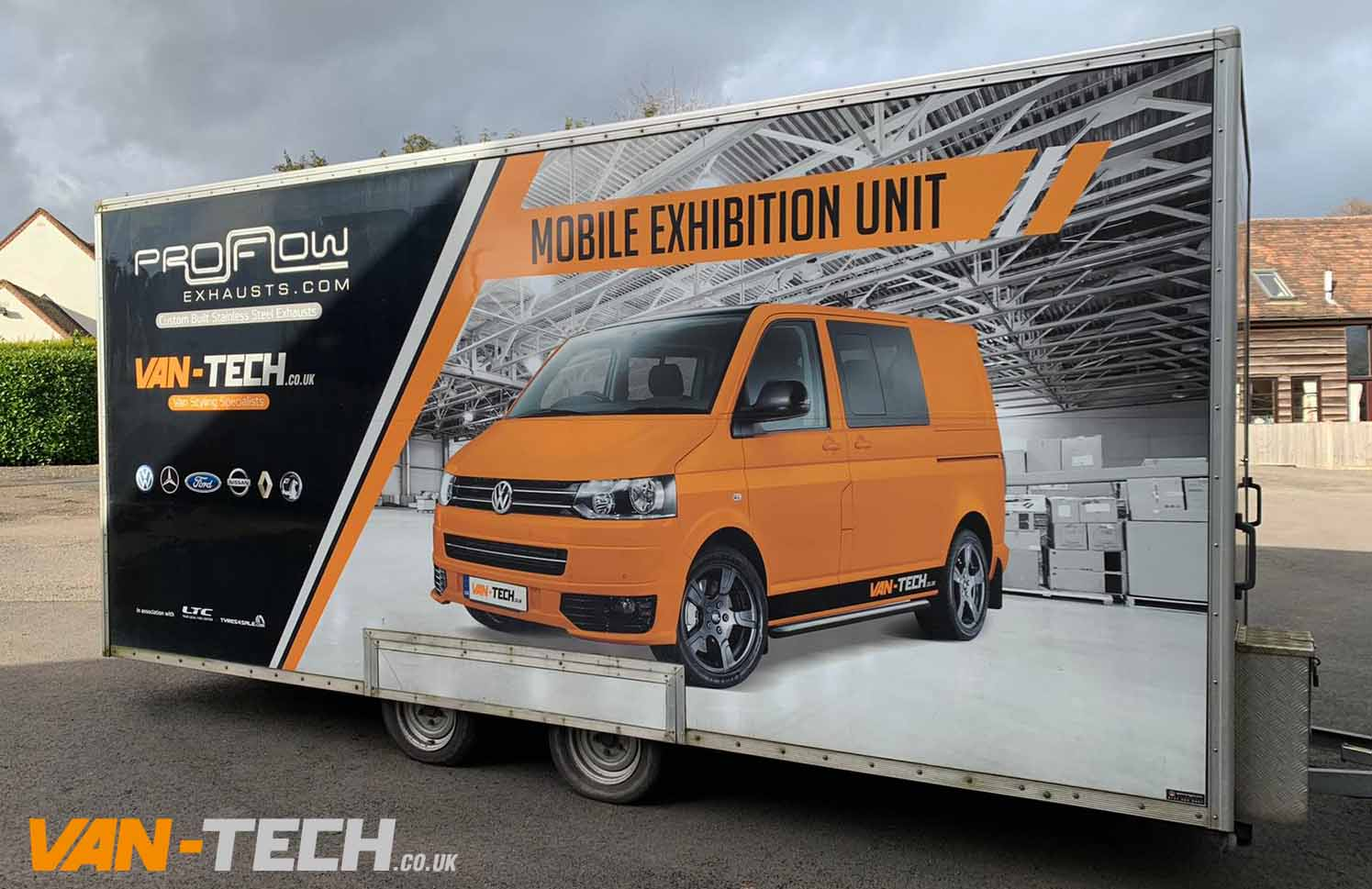 Van-Tech would like to thank everyone who attended Camper Mart 2020 at the Telford International Centre