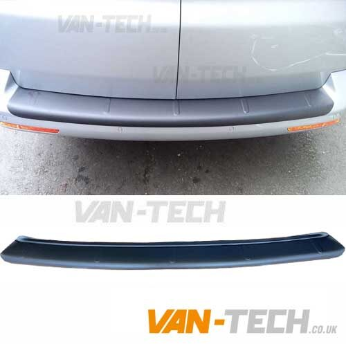 Transporter Rear Bumper Protector Matte Black Barn Door