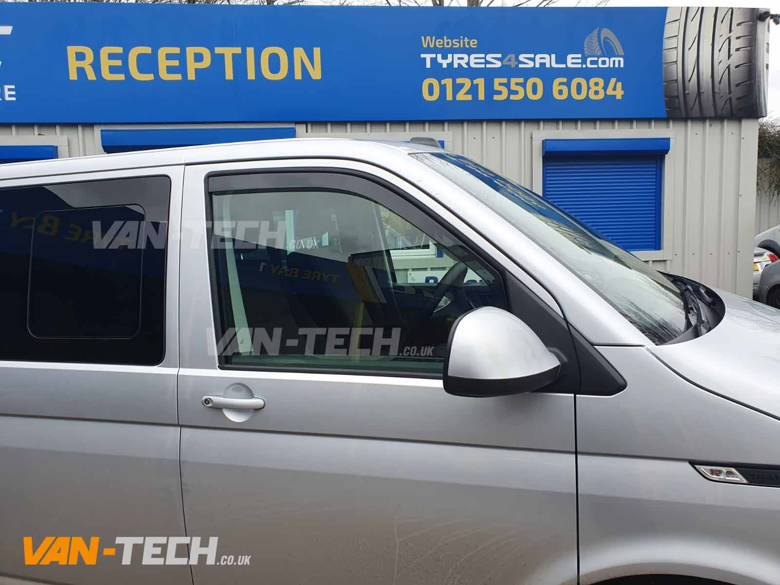 VW Transporter T6.1 Parts and Acessories Wind Deflectors, Bonnet Deflector and Rear Bumper Protector!