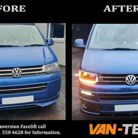 VW T5.1 Transporter Sportline Upgrade Parts and Accessories