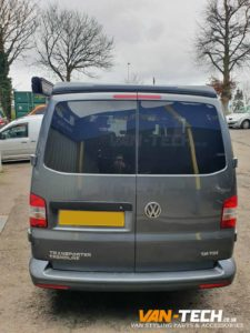 VW Transporter T5.1 Van-Tech Parts and Accessories Sportline Front Bumper and Rear Spoiler