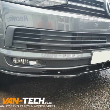 VW Transporter T6 Front Bumper Lower Splitter supplied and fitted