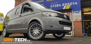 VW T5.1 Calibre Altus Alloy Wheels 20″ Hyper Silver