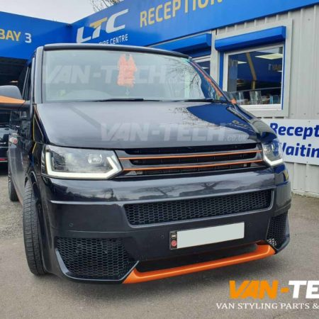 vw t5.1 drl light bar headlights