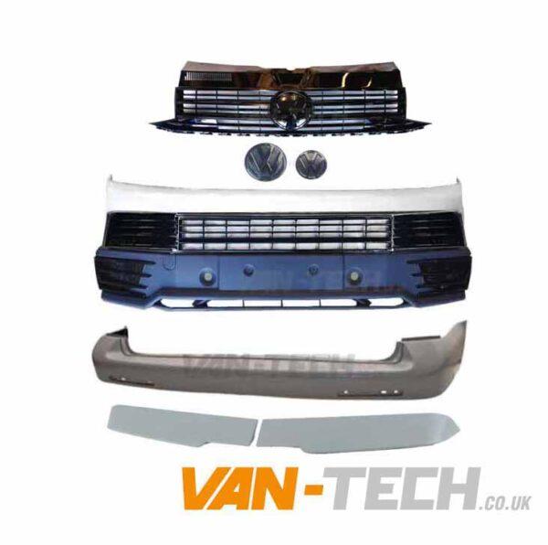 Pre-painted VW T6 Startline to Highline Conversion kit