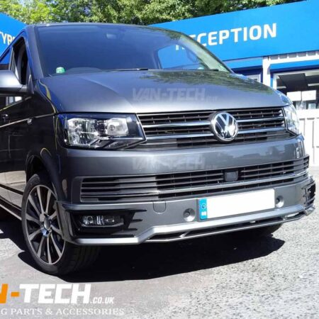 VW Transporter T6 Sportline Bumper and Rear Spoiler