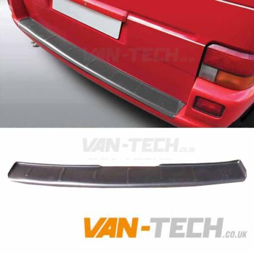 VW T4 Transporter Rear Bumper Protector Matte Black