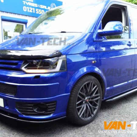 VW Transporter T5.1 Parts and Accessories Lightbar Headlights, Sportline Bumper, Splitter and Sportline Side Bars!