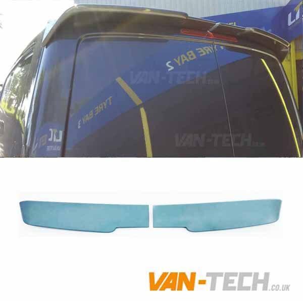 VW T6 Sportline Bumper Lower Splitter and Barn Door Spoiler
