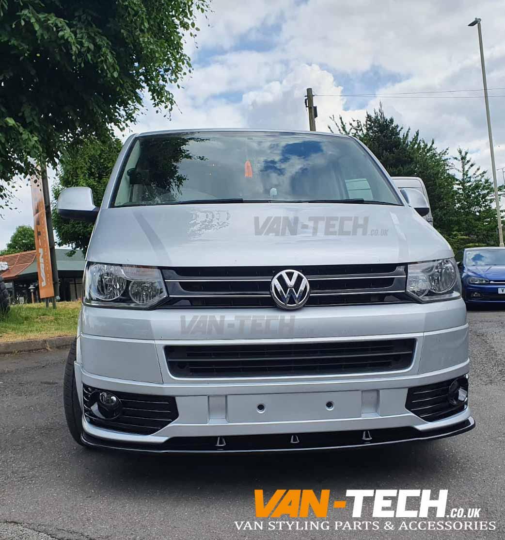 VW Transporter T5.1 Sportline Bumper and Lower Splitter Combo