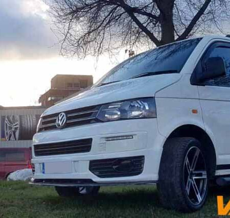 Van-Tech Supply and fit accessories for VW Transporter T4, T5 and T6 including Side Bars, Roof Rails, Alloy Wheels, Bumpers, Splitters, Curtains, Spoilers, Headlights and much more. Follow Van-Tech
