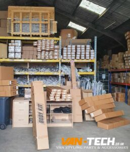 Huge new delivery of Van-Tech stock has just arrived including Grilles, Body kits, Spoilers, Splitters, Diffusers