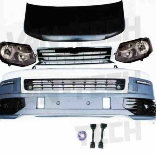 VW T5 to T5.1 Front End Conversion Styling Pack Standard Lights