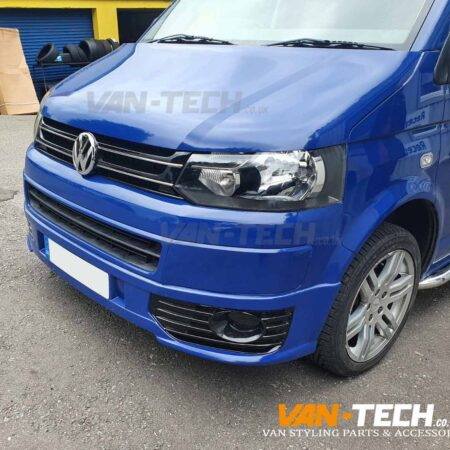 VW Transporter T5.1 Sportline Side Bars and Sportline Lower Bumper