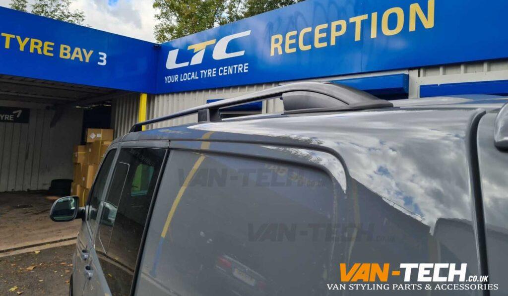 VW Transporter T6.1 Side Bars, Roof Rails, Tailgate Spoiler and Splitter