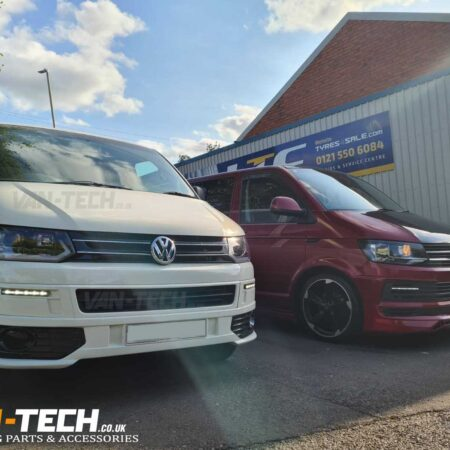 VW T5 to T5.1 Front End conversion Facelift and Rear Bumper Styling Kit
